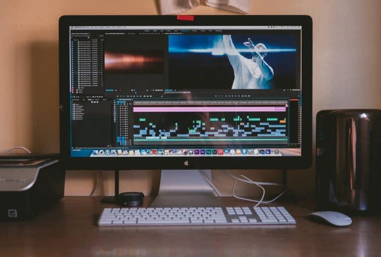 Formatando vídeo em PC.