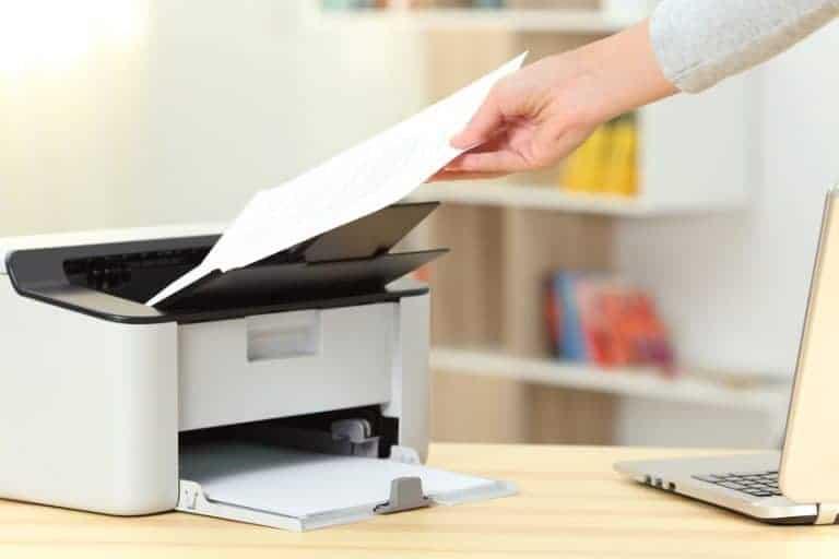 Impressora matricial.