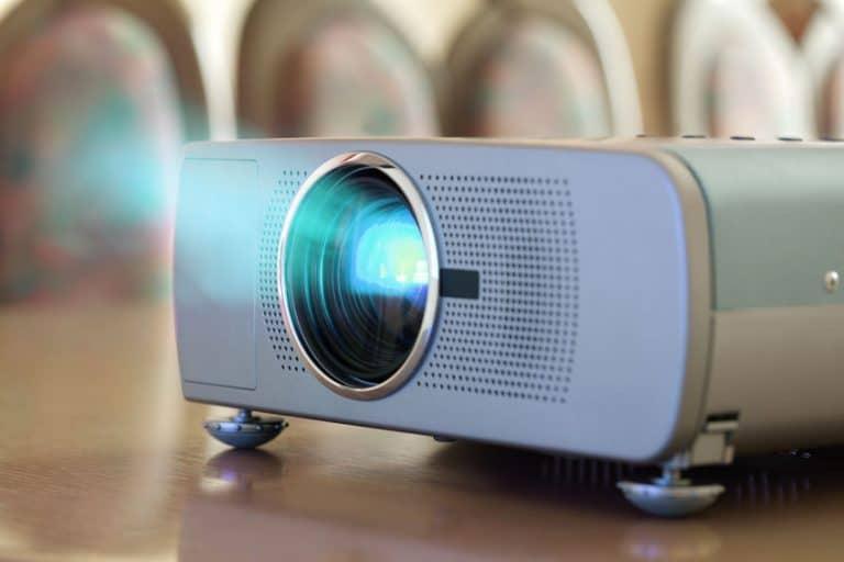 Imagem de projetor.