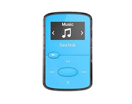 Reprodutor MP3 de 8GB com Rádio FM - SanDisk Clip Jam SDMX26
