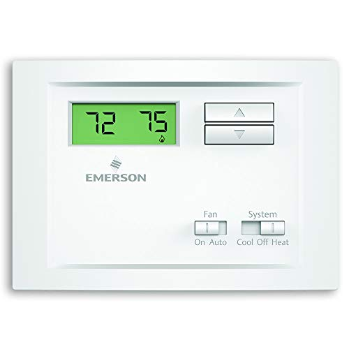 Termostato de estágio único não-programável Emerson NP110