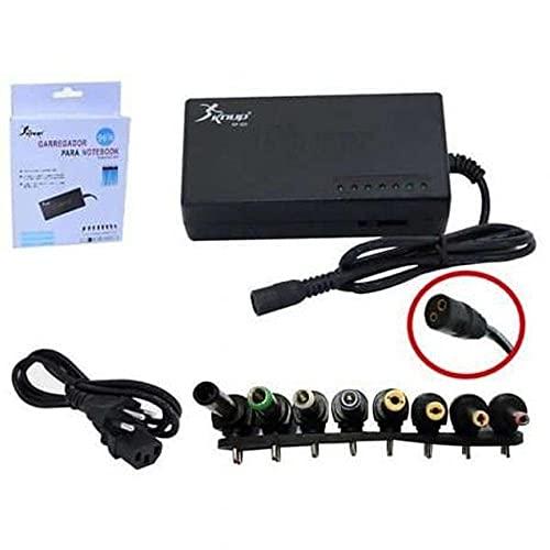 Fonte Universal Carregador para Notebook 8 Conectores Bivolt 96W Knup KP-525A